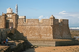 Image result for castillo de san sebastian cadiz